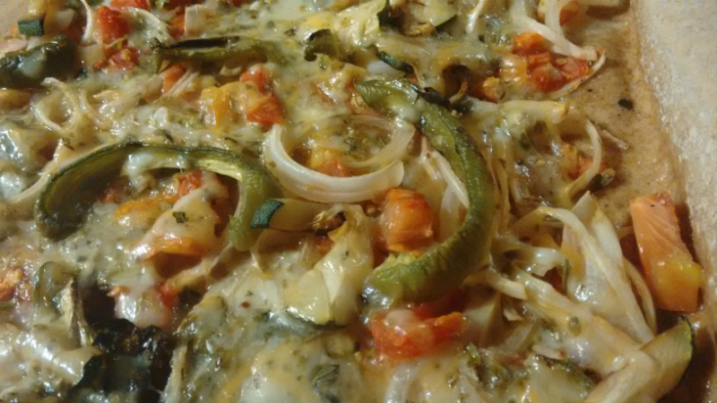 receta pizza espelta integral